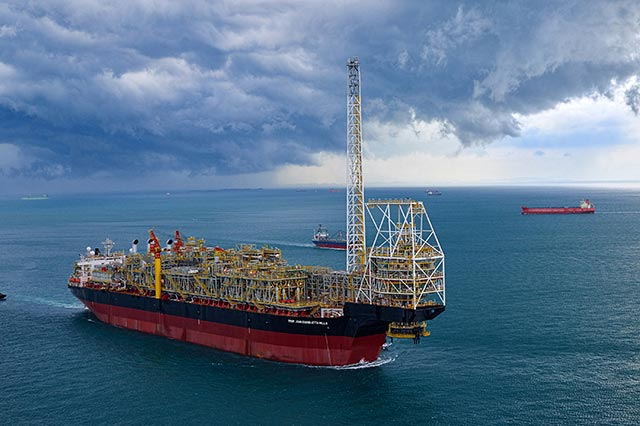 FPSO (Floating Production, Storage and Offloading system : 浮体式海洋石油・ガス生産貯蔵積出設備)
